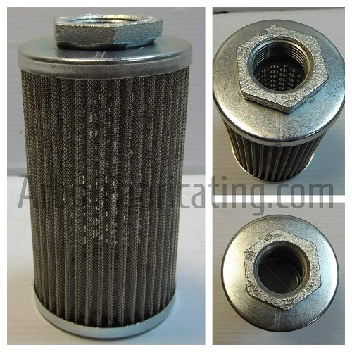 "3"" X 5.75"" Suction Filter 1"" Fitting 600 Micron Pleated"