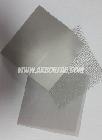 "6"" Mesh Screen Sample Sheet"