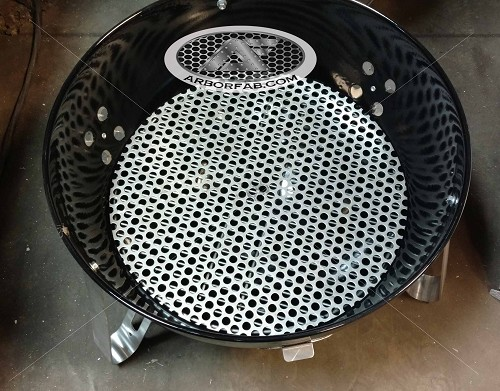 "Charcoal Grate for Weber Smokey Mountain Grill 18.5""  WSM"