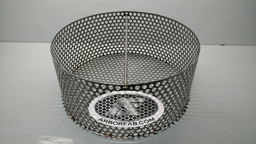 "Charcoal Assembly (Ring, Grate & Handle) for Weber Smokey Mountain Grill 18.5""  WSM"