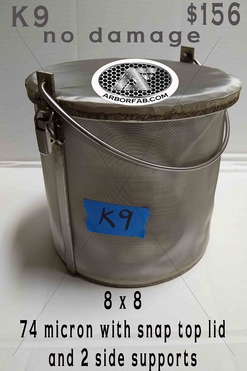 K9 - 8x8 Snap Top Lid